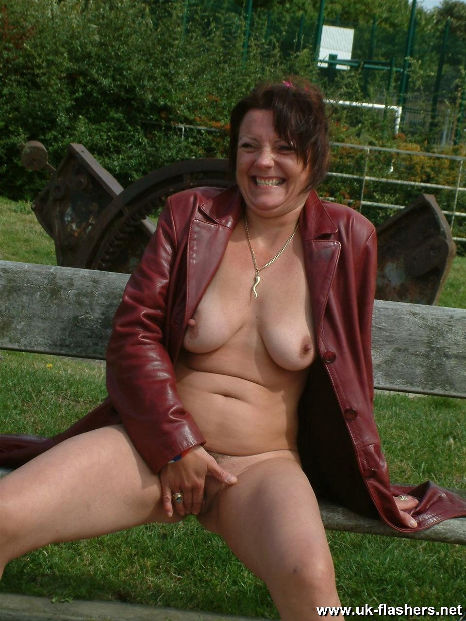 Share your amateur mature nude garden